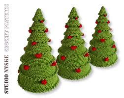 christmas crochet pattern amigurumi tree with balls x mas