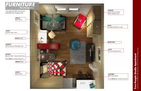 Small Loft Apartment Floor Plan Studio Apartment Floor Plans Finest Plano De Apartamento Pequeo
