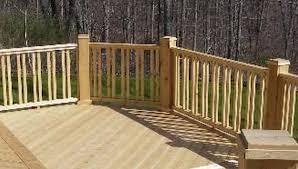 decks ideas wood deck handrail designs s of deck railing ideas and