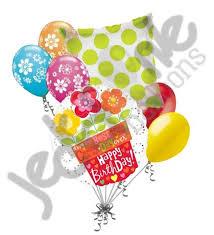 birthday balloon bouquet bright flower pot happy birthday balloon bouquet jeckaroonie