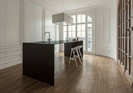 cuisine invisible ilot central pour cuisine de design invisible