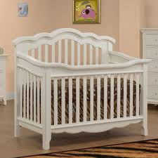 sorelle lusso nursery ravenna collection crib with toddler rail
