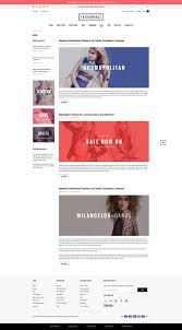 Fashion Nexus A Fashion Blog by Fashionable Responsive Fashion Shopify Template Sections Ready