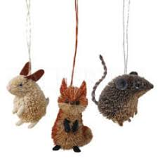 animal ornaments the mouse