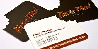 Catering Calling Card Design Tastethis Business Card U2013 Digital Graphic Design Inspiration