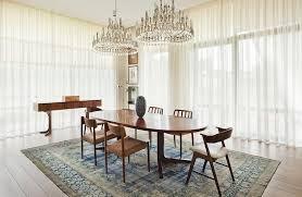 teppich esszimmer akzent im extravaganten interior vintage teppich in türkis und