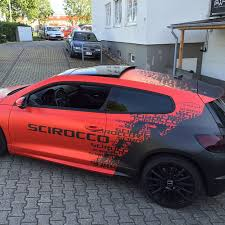 car wrapping design software vw scirocco rline design foiled paintisdead folie folierung
