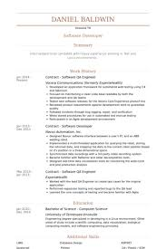 manual testing sample resume manual testing experienced resume 1