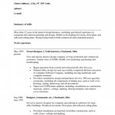 Sample Designer Resume by Resume Template Combination Templates Sample Word In 85 85