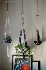 Hanging Planters Indoor by Diy Hanging Planter Just Three Lengths Of String And A Few