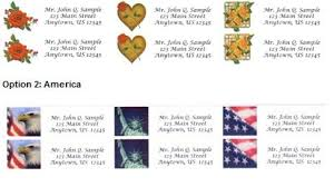 free address mailing labels
