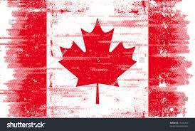 Greek Canadian Flag Canadian Grunge Flag Canadian Flag Texture Stock Vector 75196723