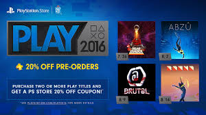 playstation plus 1 year membership black friday playstation store play 2016 starts today lineup revealed
