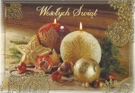 polish christmas card greetings christmas lights decoration