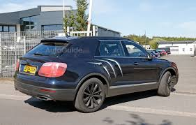 bentley garage bentley bentayga exposed in newest spy photos