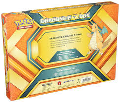 amazon com pokemon tcg dragonite ex box card game toys u0026 games