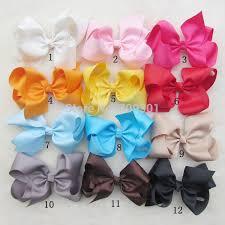 girl hair bows 6large ribbon hairbows large hair bows baby hair