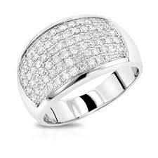 mens engagement rings mens diamond rings 14k gold diamond band by luxurman 1 5ct
