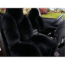 car chair covers luxury and noble fluffy wool car seat covers front and