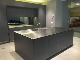Office Kitchen Furniture by Neo Metro Custom Stainless Steel Office Kitchen Island Is 96 U201d X