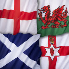 The England Flag Flags Of The United Kingdom Of Great Britain U2014 Stock Photo