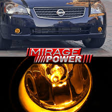 2006 nissan altima jdm for 2005 2006 nissan altima driving yellow bumper fog lights