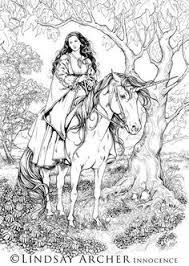dover coloring book color fairy tale illustrations