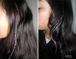 feather hair extensions she s crafty feather hair extensions m i s s