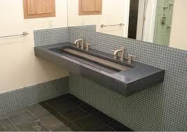 bathroom sink trough double ikea double sink long bathroom sink