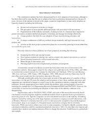 Construction Cv Template Appendix C An International Perspective On Construction
