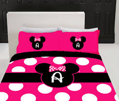 Minnie Mouse Decor For Bedroom Minnie Mouse Bed Rooms Personalized Pink Minnie Mouse