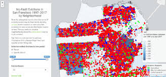 san francisco eviction map maps mania 4472 san francisco families evicted