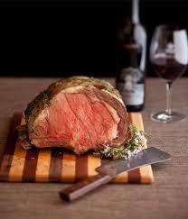 herb roasted prime rib recipe silver oak wine food