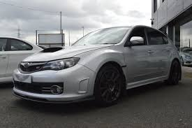 subaru wrx hatch silver second hand subaru impreza 2 5 wrx sti type uk 5dr sold for sale