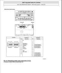hyundai santa fe speaker wiring diagram hyundai wiring diagrams