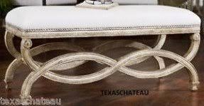 French Style Ottoman by French Country Ottomans Foter