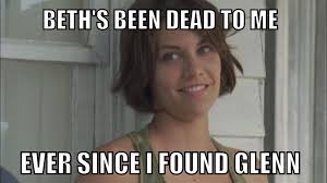 Maggie Meme - the walking dead beth 6 observations you might have missed from coda