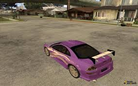 spyder mitsubishi 2003 2fast2furious mitsubishi eclipse spyder for gta san andreas
