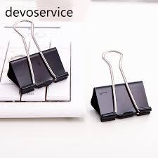 fourniture bureau design métal liant papier clip 32mm bureau d apprentissage