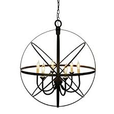 Orb Chandelier Miseno Mlit155241 6 Light Cage Orb Chandelier Oil Rubbed Bronze