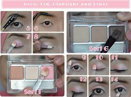 Aplikasi Eyeshadow Sariayu aplikasi eyeshadow wardah seri a wardah eyeshadow seri g dan b