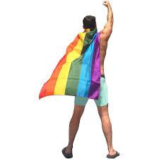 Usa Flag Cape Amazon Com Rainbowcapes Pride Rainbow Flag Cape Costume Toys