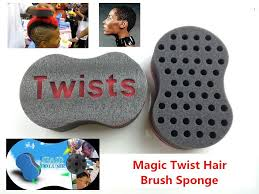 hair twist sponge magic twist hair brush sponge for blacks hair styling beauty tools