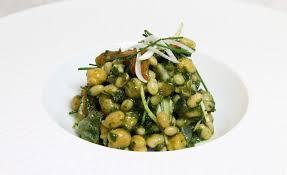 cuisiner les haricots coco recette de salade de haricots coco et pois chiches pistou d herbes