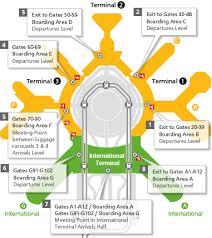 san francisco delta map meeting passengers san francisco international airport