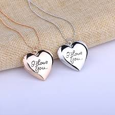 s day pendants aliexpress buy 2017 necklaces pendants letter i you