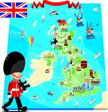 Dundee Scotland Map Cartoon Map Of Uk Stock Vector Art 131390173 Istock