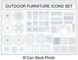 outdoor furniture vector clipart illustrations 1 905 outdoor
