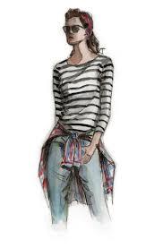 fashion illustration u2013 lavender loafers