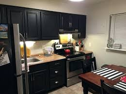 Black Paint For Kitchen Cabinets Behr Paint Kitchen Cabinets Toasty Gray Walls With Black Painted